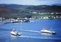 Ferries crossing Loch Alsh
