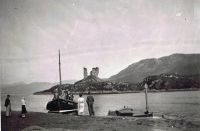 Late 1930's A Mallaig fishing boat visiting Kyleakin
