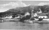 Circa 1920s - View of the Obbe showing the Glumaig