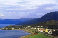 Modern view from the Skye Bridge – taken around 2000.