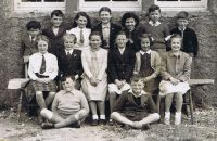 Kyleakin Public School - Big Room - 1953 - Coronation year