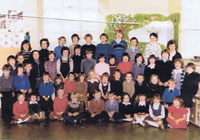 Circa 1980 - Old Kyleakin Primary School:
